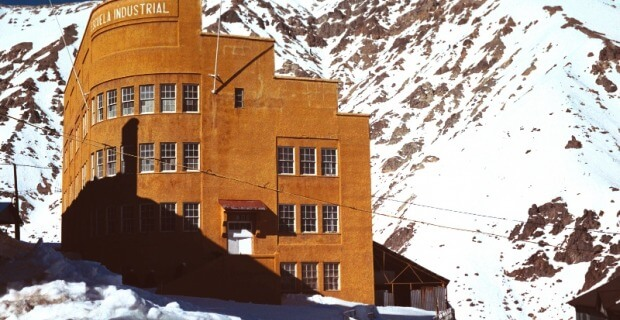 ¡Así podrías ver la ciudad minera en invierno! - Sueños Viajeros