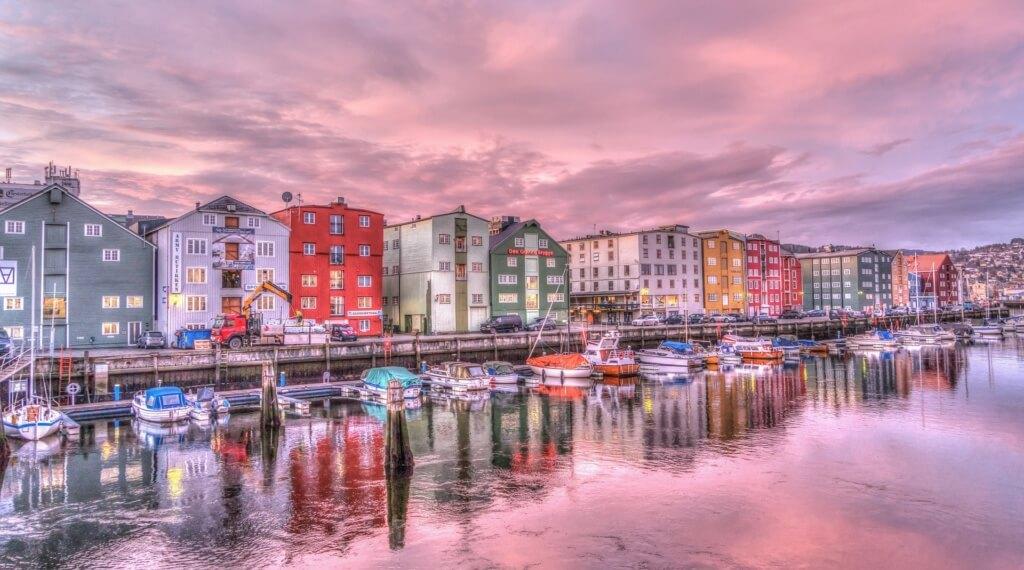 Con esta vista, imposible no ser feliz en Noruega - Sueños Viajeros