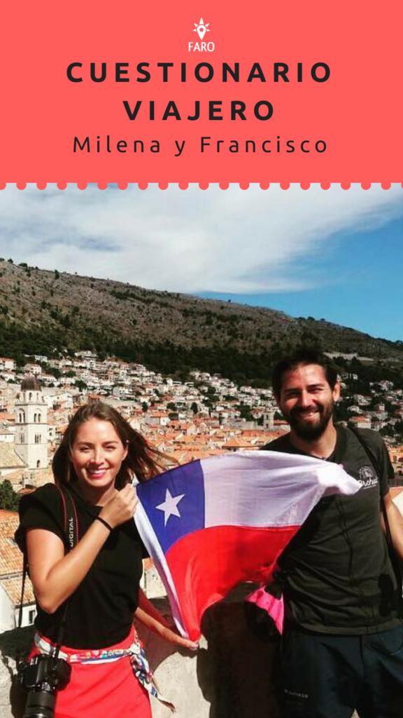 Milena y Francisco de Periodistas y mochileros - Sueños Viajeros