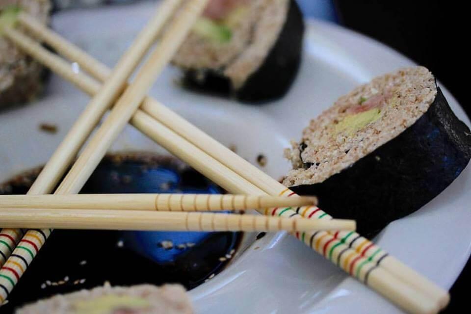 Sushi de quinoa - Sueños Viajeros