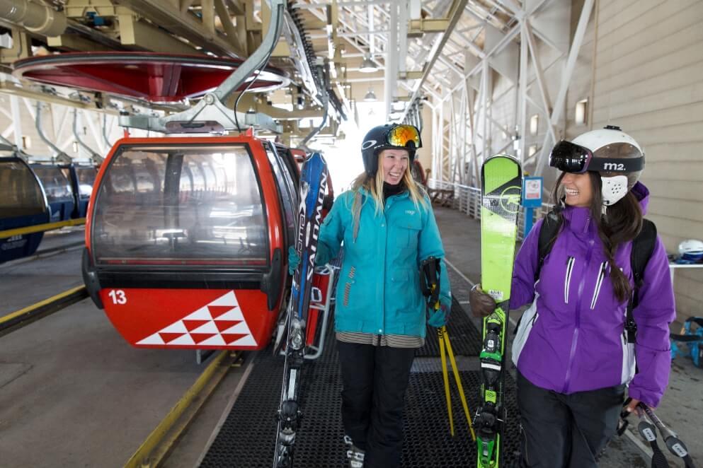 Góndola en Valle Nevado - Sueños Viajeros