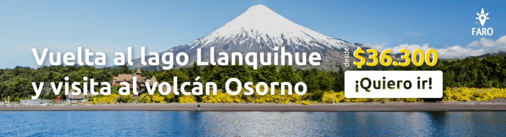 Tour al lago Llanquihue y volcán Osorno - Sueños Viajeros