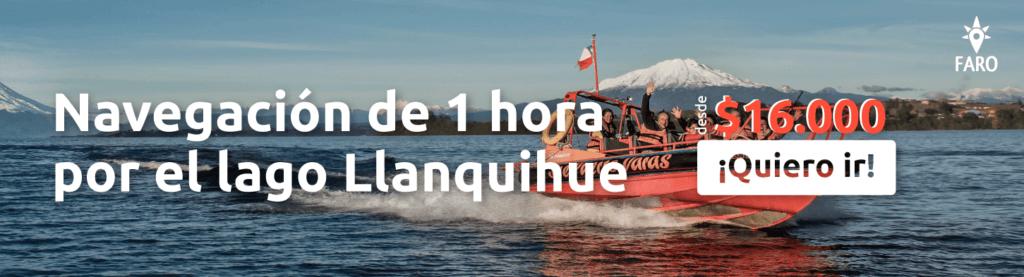 Tour navegación por el lago Llanquihue - Sueños Viajeros