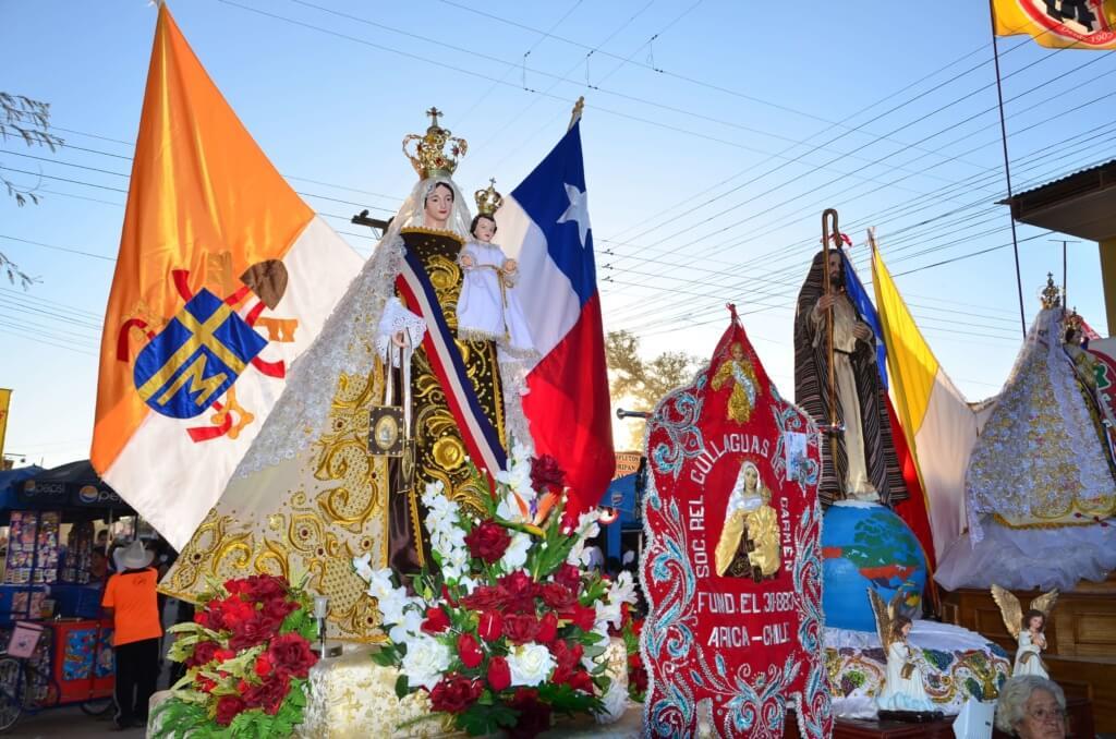 Virgen del Carmen de Baile Religioso - Sueños Viajeros