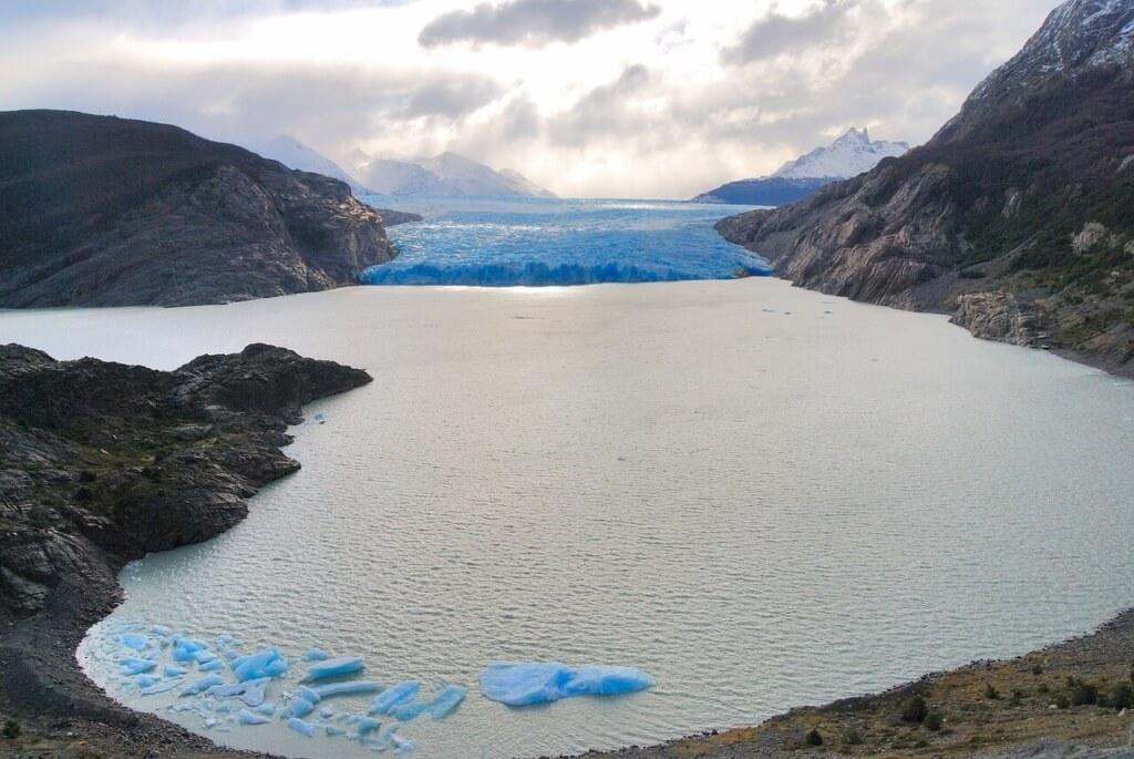 Glaciar Grey en el Parque Nacional Torres del Paine - Sueños Viajeros