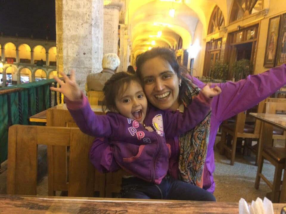 Carolina y Pacita en Perú - Sueños Viajeros