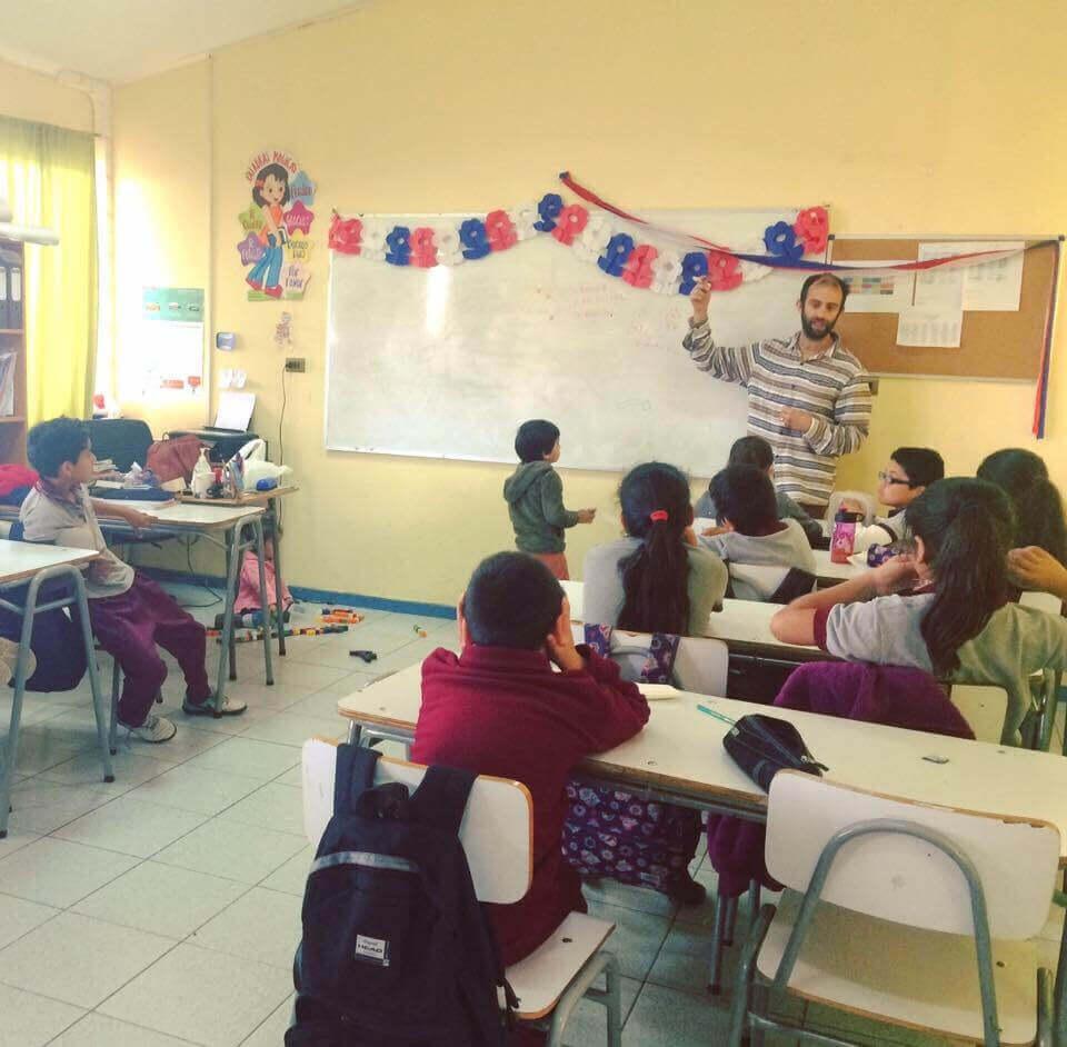 Voluntariado en Escuela Paposo - Sueños Viajeros