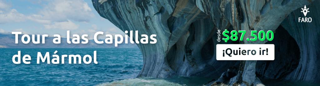 Santuario de la Naturaleza Capillas de Mármol - Sueños Viajeros
