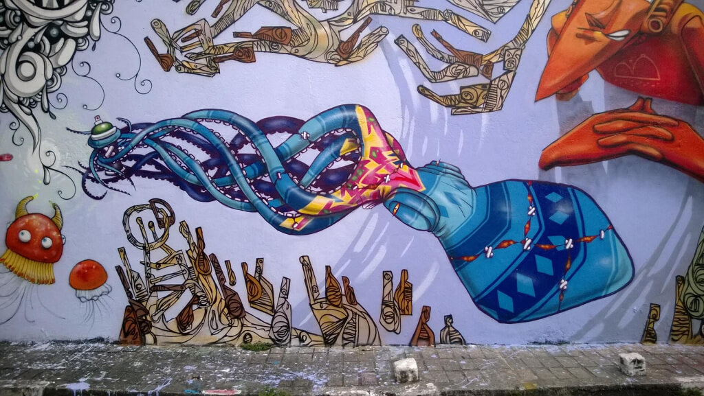 Arte urbano en Sao Paulo, Brasil - Sueños Viajeros