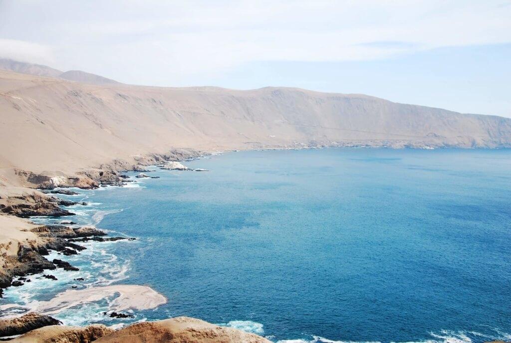 Bahía de Pisagua - Sueños Viajeros