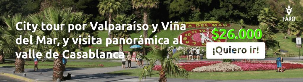 City tour por Valparaíso y Viña del Mar, y visita panorámica al valle de Casablanca - Sueños Viajeros