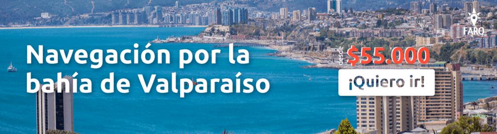 Navegación por la bahía de Valparaíso - Sueños Viajeros