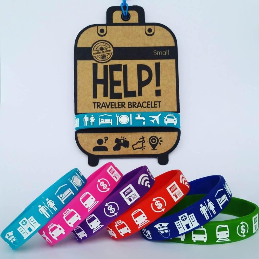 Pulsera HELP! - Sueños Viajeros