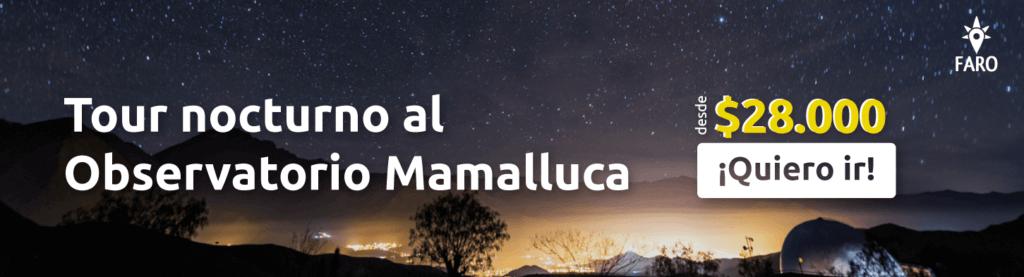 Observatorio Cerro Mamalluca - Sueños Viajeros