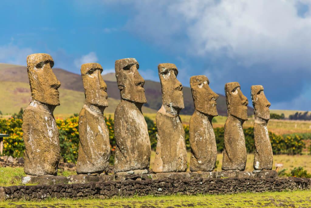 Ahu Akivi, Isla de Pascua - Sueños Viajeros