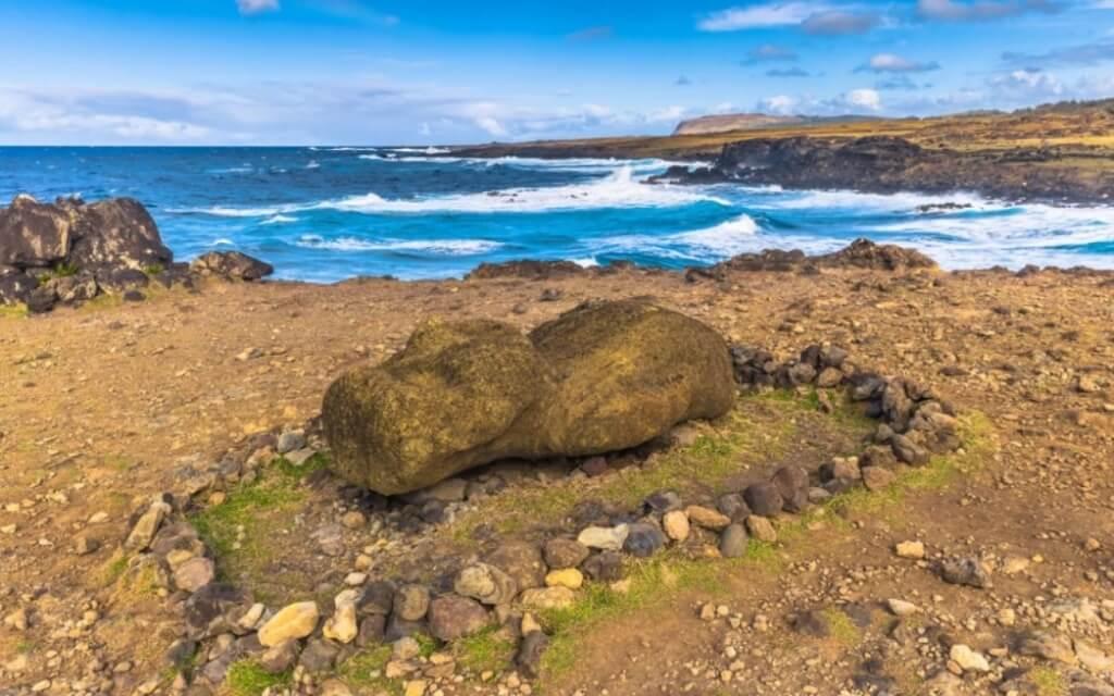 Ahu Akahanga, Isla de Pascua - Sueños Viajeros