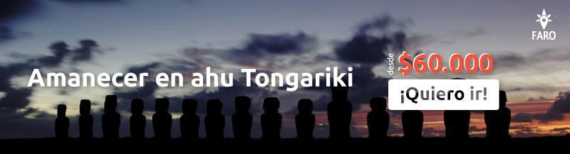 Amanecer en Ahu Tongariki, Isla de Pascua - Sueños Viajeros