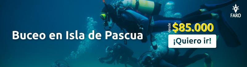 Buceo en Isla de Pascua - Sueños Viajeros