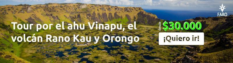 Tour por el ahu Vinapu, el volcán Rano Kau y Orongo - Sueños Viajeros