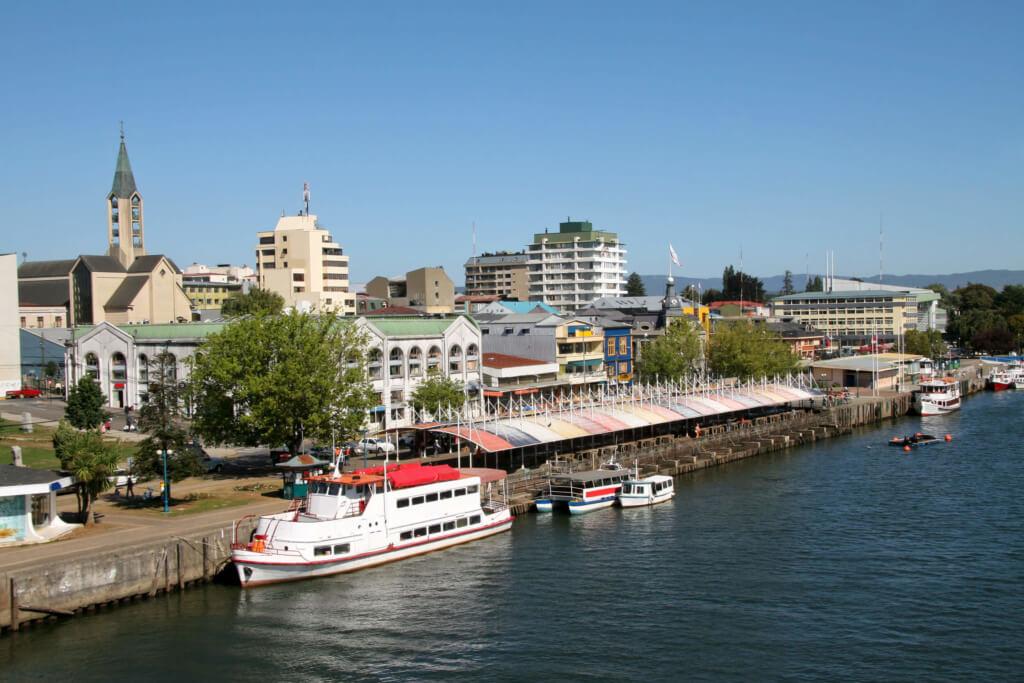 Mercado fluvial en Valdivia - Sueños Viajeros