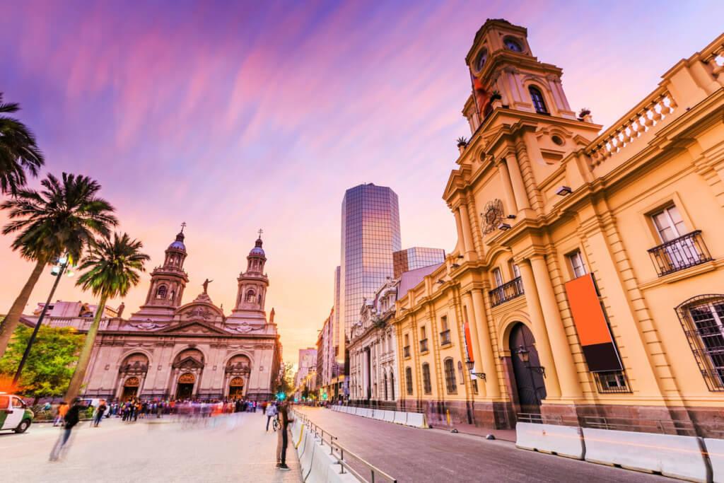 Plaza de Armas en Santiago - Sueños Viajeros