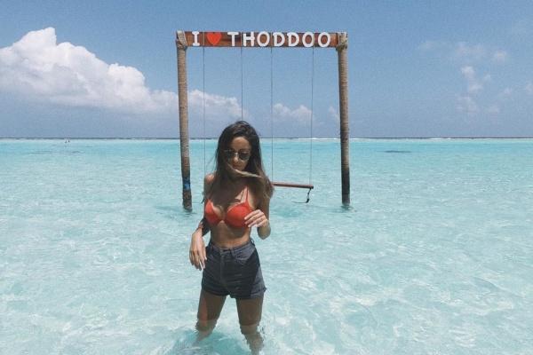 Viajero Faro: Andrea Tapia en Maldivas