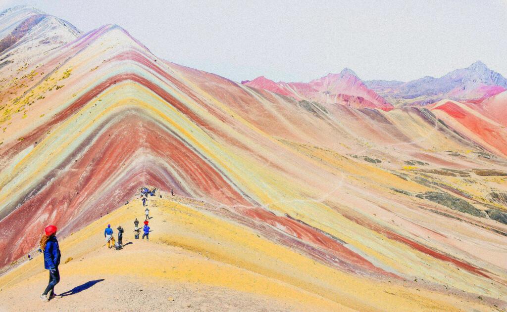 Montaña de los 7 colores o Vinicunca