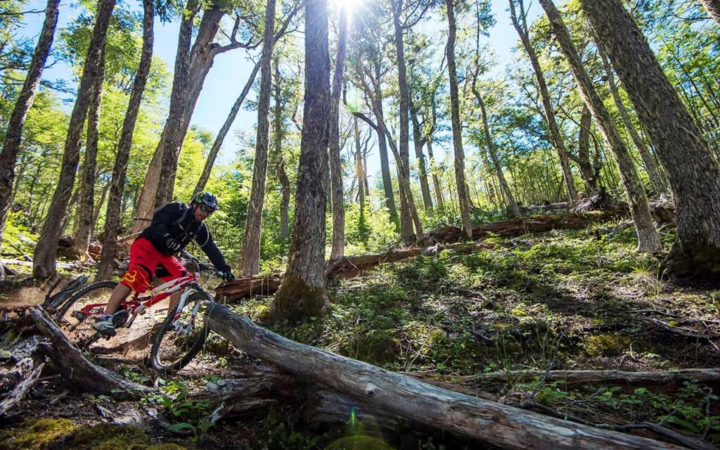 Tour de mountain bike por el Parque Nacional Cerro Castillo