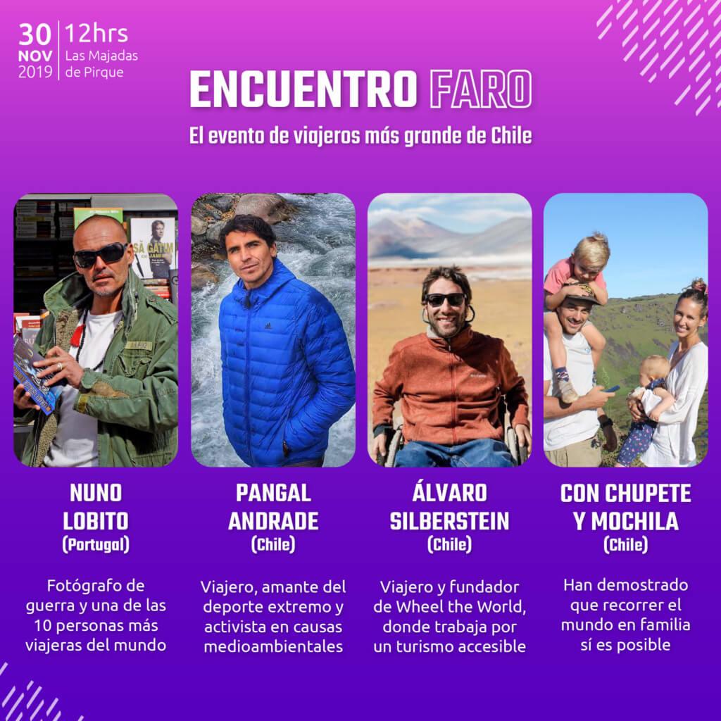 Charlistas Encuentro Faro 2019