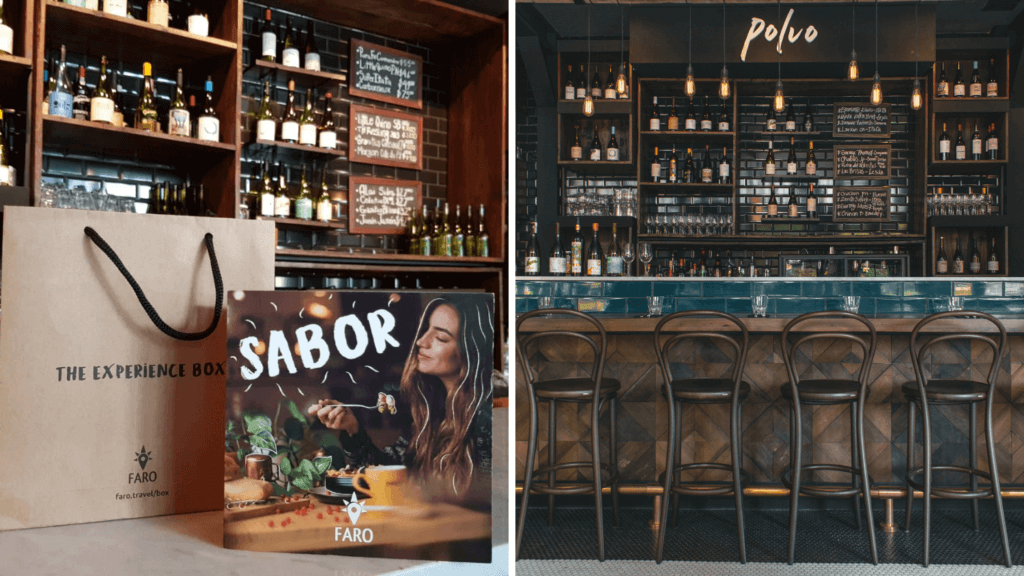Polvo Bar de Vinos en The Experience Box