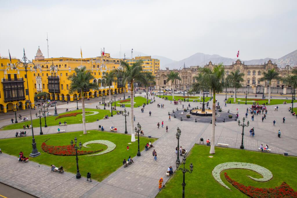 Centro histórico de Lima - Sueños Viajeros Faro Travel