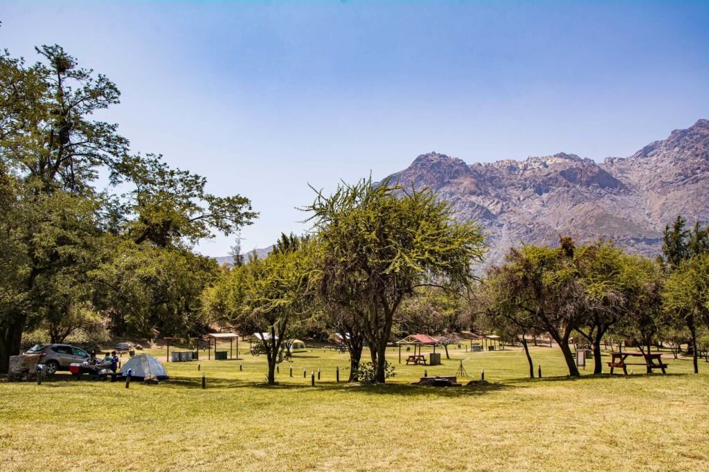 Zona de camping - Be Chile